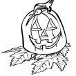 Halloween Kleurplaat 10