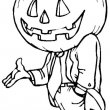 Halloween Kleurplaat 15