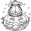 Halloween Kleurplaat 4