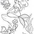 Ariel kleurplaat
