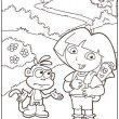 Dora kleurplaat 15