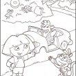 Dora kleurplaat 18