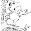 Winney the Pooh kleurplaat